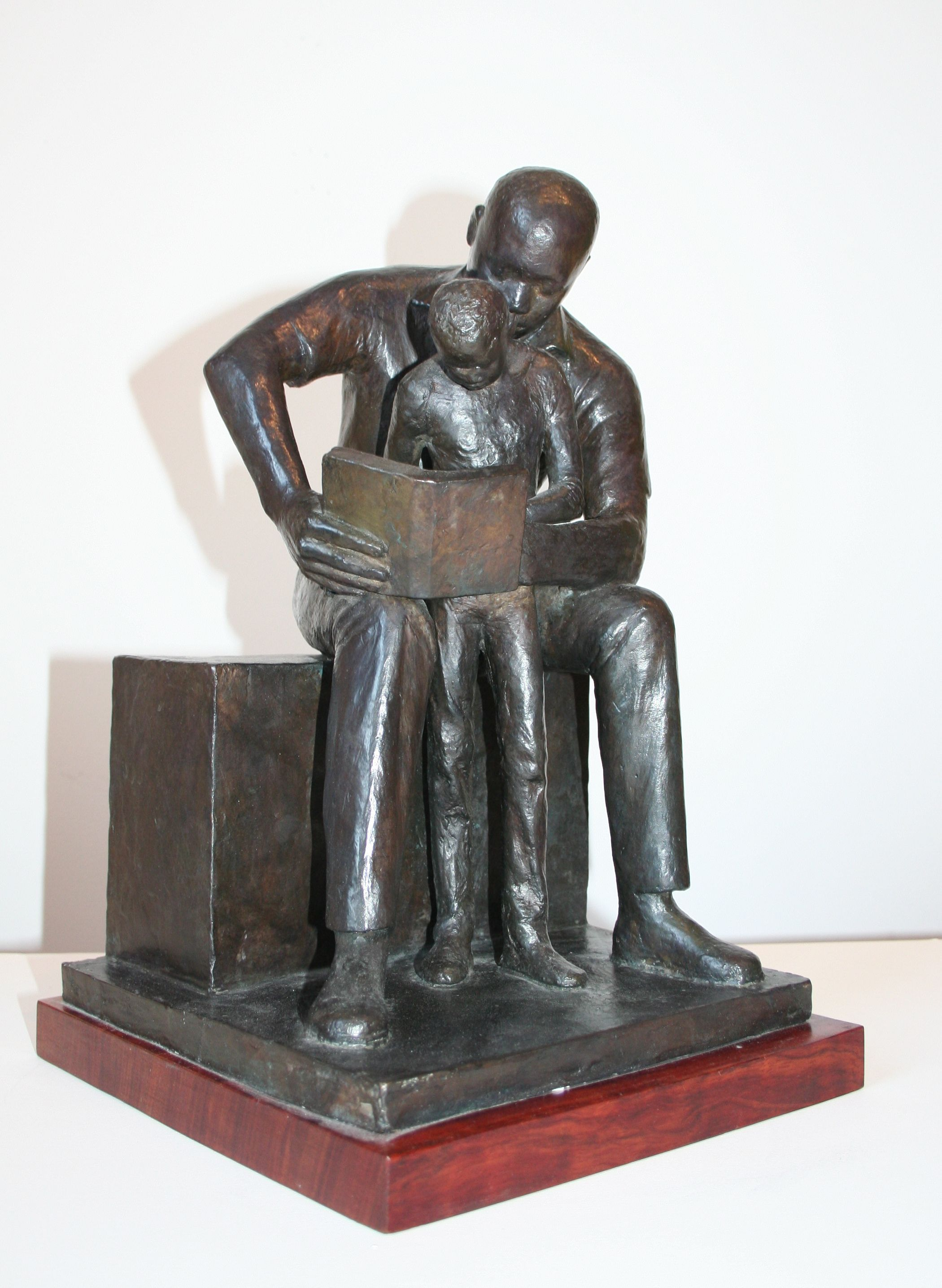 Wilson, John- Father and Child Reading