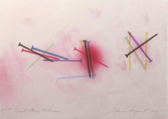 Rosenquist, James - Drawing #1 for Heart time Flowers web