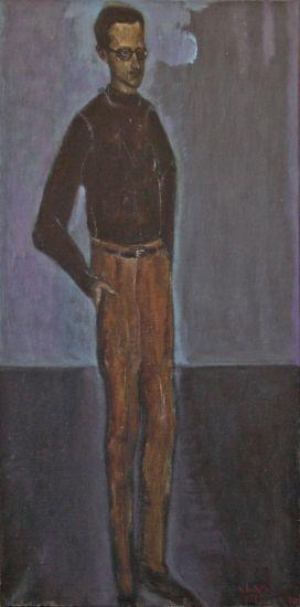 Chaet, Bernard - Self Portrait 550