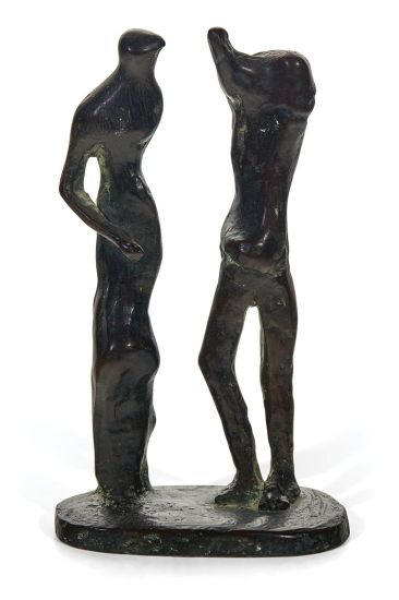 Moore, Henry - Standing Man and Woman 550