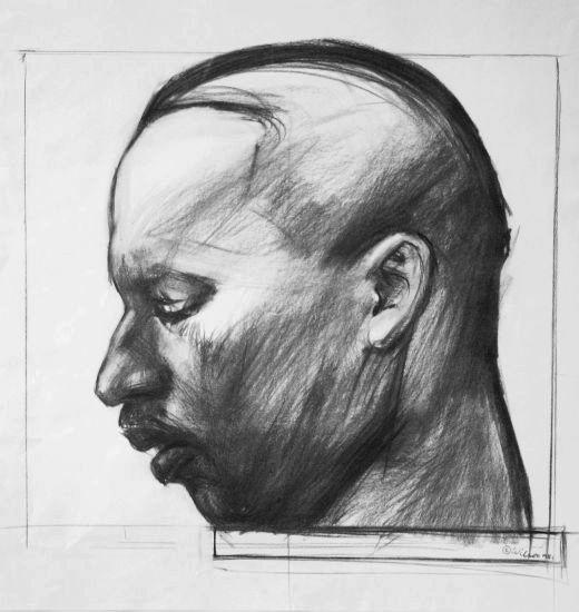 Wilson, John-Study for Martin Luther King, Jr 550